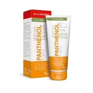 Panthenol Forte 9% testápoló Aloe verával + 30 ml ajándékba
