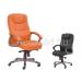 HAL-Oskar főnöki fotel, textilbőr