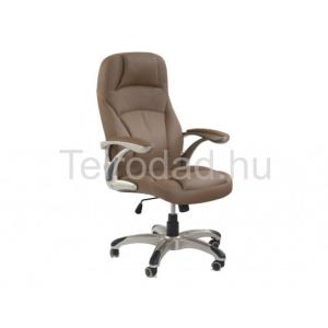 HAL-Carlos főnöki fotel, textilbőr
