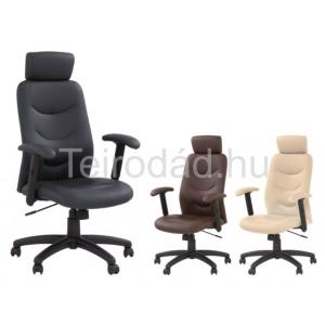 HAL-Stilo magastámlás vezetői szék, textilbőr