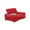 COM-Camberra valódi bőr design fotel