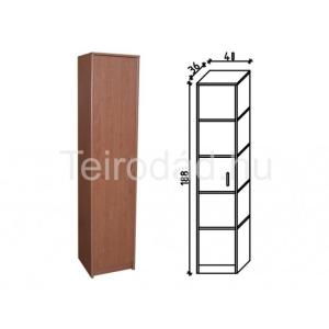 Ravenna 25 balos ajtós polcos irodaszekrény