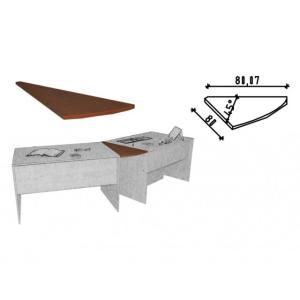 Ravenna 36/c íróasztal 45 fokos elfordító elem