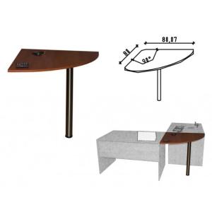 Ravenna 36/b íróasztal 90 fokos elfordító elem