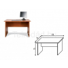 Malibu 20 íróasztal (120 cm)