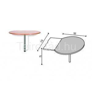 Malibu 31 íves íróasztal lezáró elem