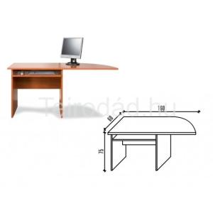 Malibu 25 számítógépasztal elem