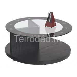 HAL-Gemma kör, üveg dohányzóasztal