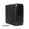 "Zalman Z12 Midi Black Black, 4x5, 25"", belső 5x3, 5"", ATX, Midi Tower, 2xUsb, Audio, Táp nélkül, 215x470x480mm, belső 1x2, 5"", 2x"