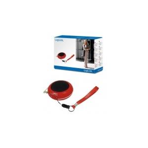 LogiLink Hordozható MP3 hangszóró piros