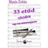33 ETŰD OBOÁRA - VAGY MÁS DALLAMHANGSZERRE