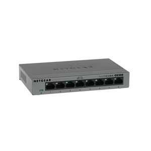 Netgear GS308 8-port Gigabit Switch, fémház