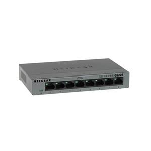 Netgear GS308 8-port Gigabit Switch, fémház