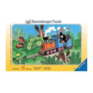 Ravensburger Spieleverlag Ravensburger Ramapuzzle, 15 db-os - Kisvakond, 906349