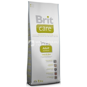 Brit Care Hypo-Allergenic Adult Small Breed Lamb & Rice 4 x 7,5 kg