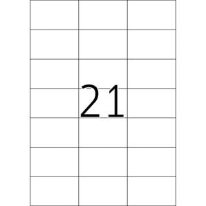 Fortuna ETIKETT FORTUNA 70X42, 3 UNIVERZÁLIS