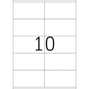 Fortuna ETIKETT FORTUNA 105X57 UNIVERZÁLIS
