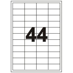 Fortuna ETIKETT FORTUNA 48, 5X25, 4 UNIVERZÁLIS