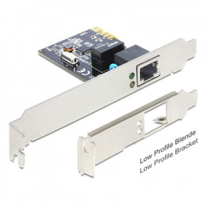DELOCK PCI Express Card > 1 x Gigabit LAN 89357