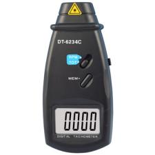 HOLDPEAK 6234C Digitális, lézeres optikai fordulatszám mérő, mérőműszer