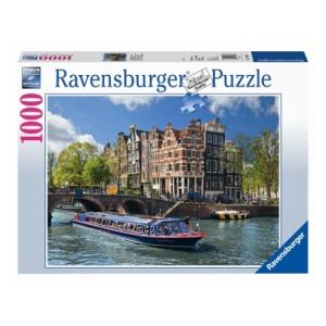 Ravensburger Amszterdami túra puzzle, 1000 darabos