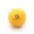 Play zsonglőrlabda, egyszínű, 60mm,sárga