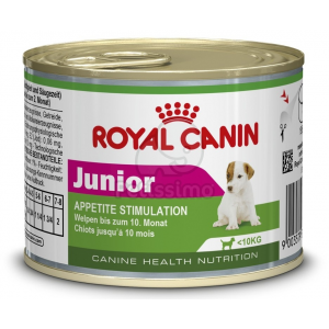 Royal Canin Mini Junior konzerv 6 x 195 g