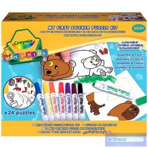 Crayola Crayola: Matricás puzzle kicsiknek