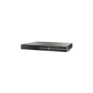 Cisco Systems Cisco SG500X-24 24x10/100/1000, 4x10Gig SFP+ Stackable Managed Switch