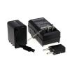 Powery Utángyártott akku videokamera JVC GZ-E200 (lapos csatlakozóval) +töltővel