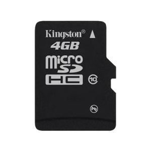 Kingston microSDHC 4GB Class 10