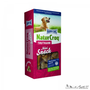 HAPPY DOG Natur Snack Mini Truthahn