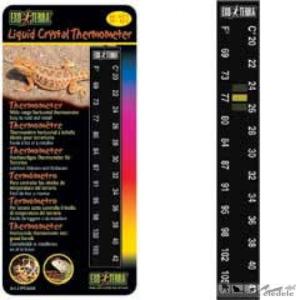 EXO TERRA 2455 LIQUID CRYSTAL THERMOMETER hőmérő