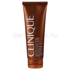 Clinique Sun Self Sun önbarnító testápoló tej