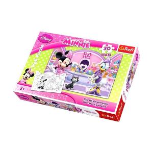 Minnie egér és Daisy kacsa 30 db-os kétoldalas puzzle
