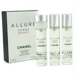 Chanel Allure Homme Sport EDT 3 x 20 ml