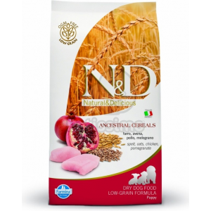 N&D Low Grain Dog Puppy Chicken & Pomegranate 2 5 kg