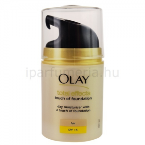 Olay Total Effects nappali fiatalító krém make-up -pal
