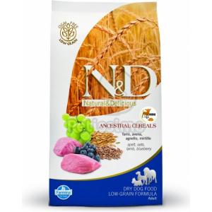 N&D Low Grain Dog Adult Mini Lamb & Blueberry 2 5 kg
