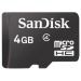 Sandisk microSDHC 4GB Class 4