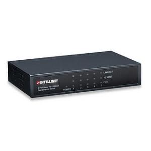 Intellinet switch 5x10/100 fém, desktop (523301)