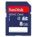Sandisk SDHC 8GB Class 4