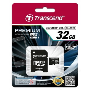 Transcend microSDHC 32GB UHS-I Class 10