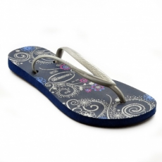 Havaianas SLIM SEASON NB/S NAVY BLUE/SILVER