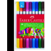 Faber castell Filctoll kétvégű 10 db