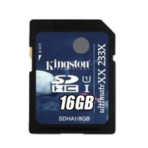 Kingston SDHC 16GB UltimateXX 233x