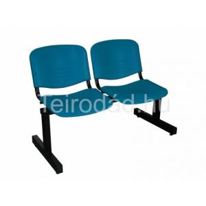 Teirodád.hu LIN-ISO Colorplast 2P, műanyag várótermi szék (2 üléses)