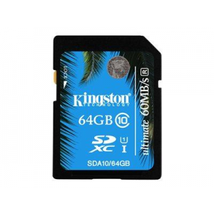 Kingston SDXC 64GB Ultimate UHS-I Class 10