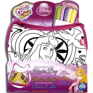 Flair Toys Color Me Mine Disney Hercegnők színezhető Csipkerózsika táska