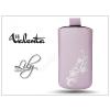 Valenta POCKET LILY S02 univerzális bőrtok - Nokia C6-00/E72/Samsung S5230/HTC HD Mini - purple